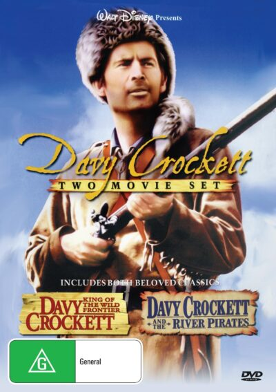 Davy Crockett : King of the Wild Frontier / Davy Crockett and the River Pirates